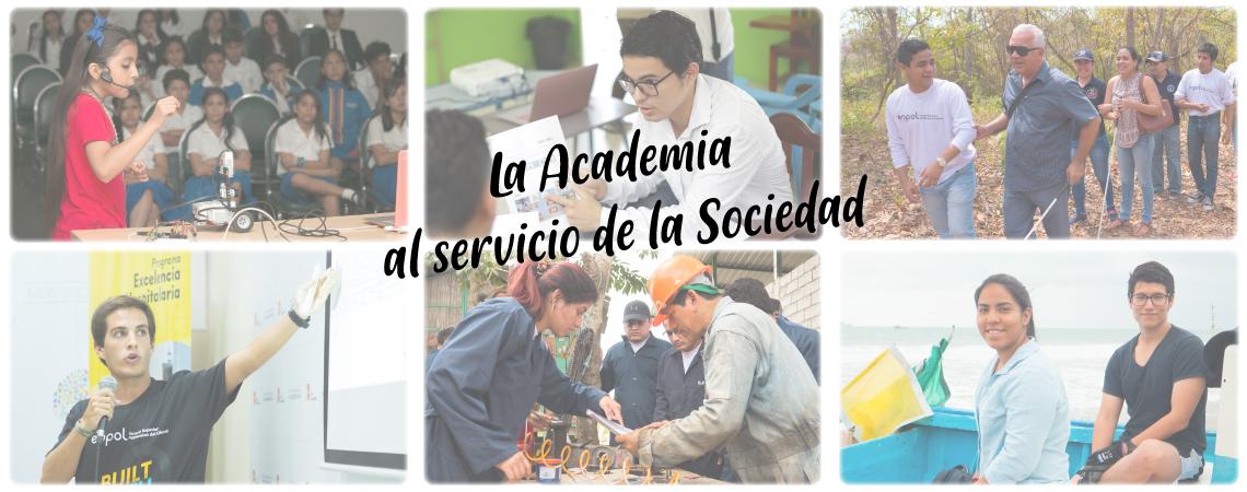 Academia al servicio de la sociedad