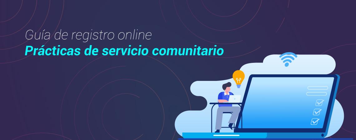 Guía de registro online